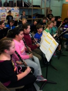 Clarinets and saxes in harmony